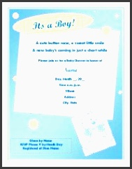 baby shower invitations templates baby shower invitation for boy baby shower agenda template 7 baby
