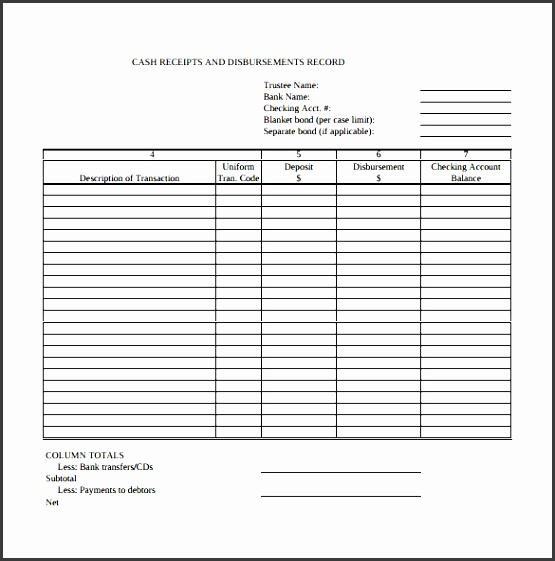 Cash Receipt Template 8  Cash Receipt Word Template