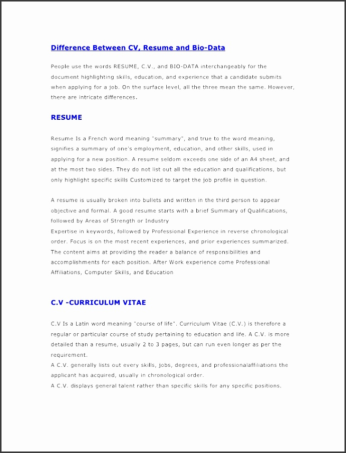 10 biography template ready to use - sampletemplatess