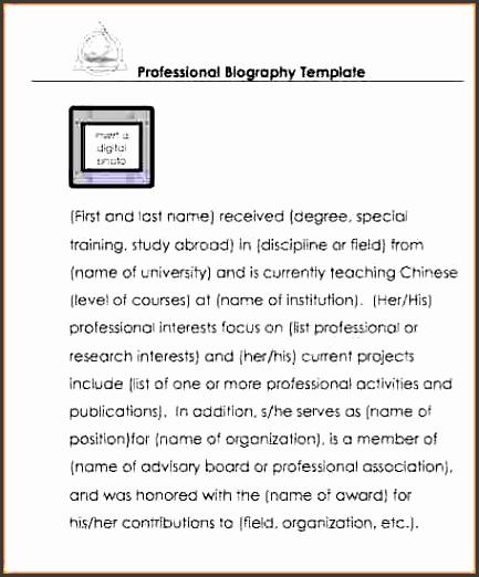 9  biography templates - sampletemplatess