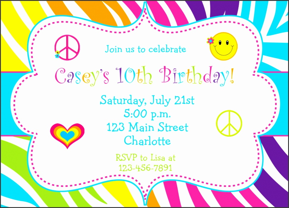 19 inspirational birthday party invitation cards and templates wedding invitations