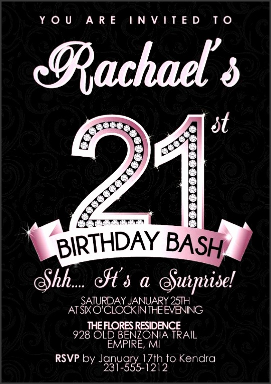 21st birthday party invitations to help your alluring party invitations full of inspiration 18