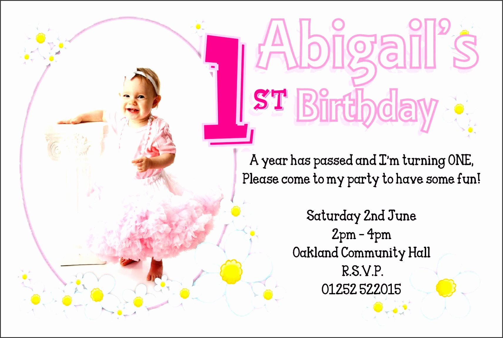 9 birthday party invitation template for baby boy
