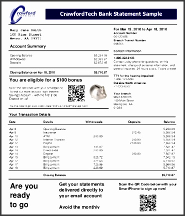 7 blank bank statement template sampletemplatess sampletemplatess. Black Bedroom Furniture Sets. Home Design Ideas
