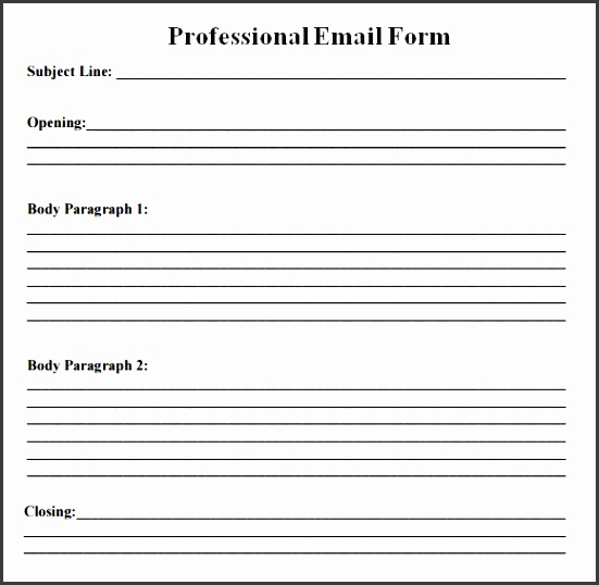 5 blank introduction email to client template