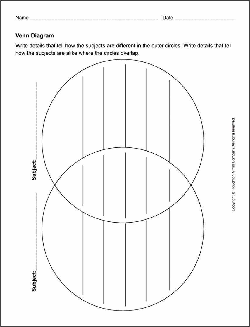 5 Blank Ishikawa Diagram Template