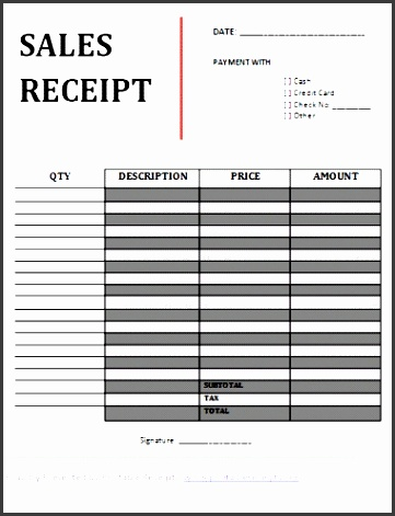 printable sales receipt hdrvu new printable sales receiptee sales receipt template