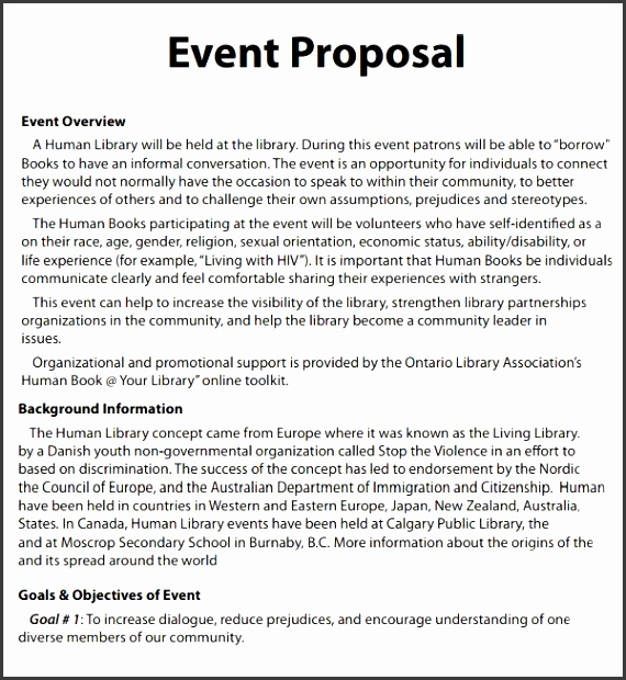 event proposal template 16 free documents in pdf word sample templates