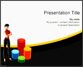 women business plan powerpoint template is a free presentation template for microsoft powerpoint that you can