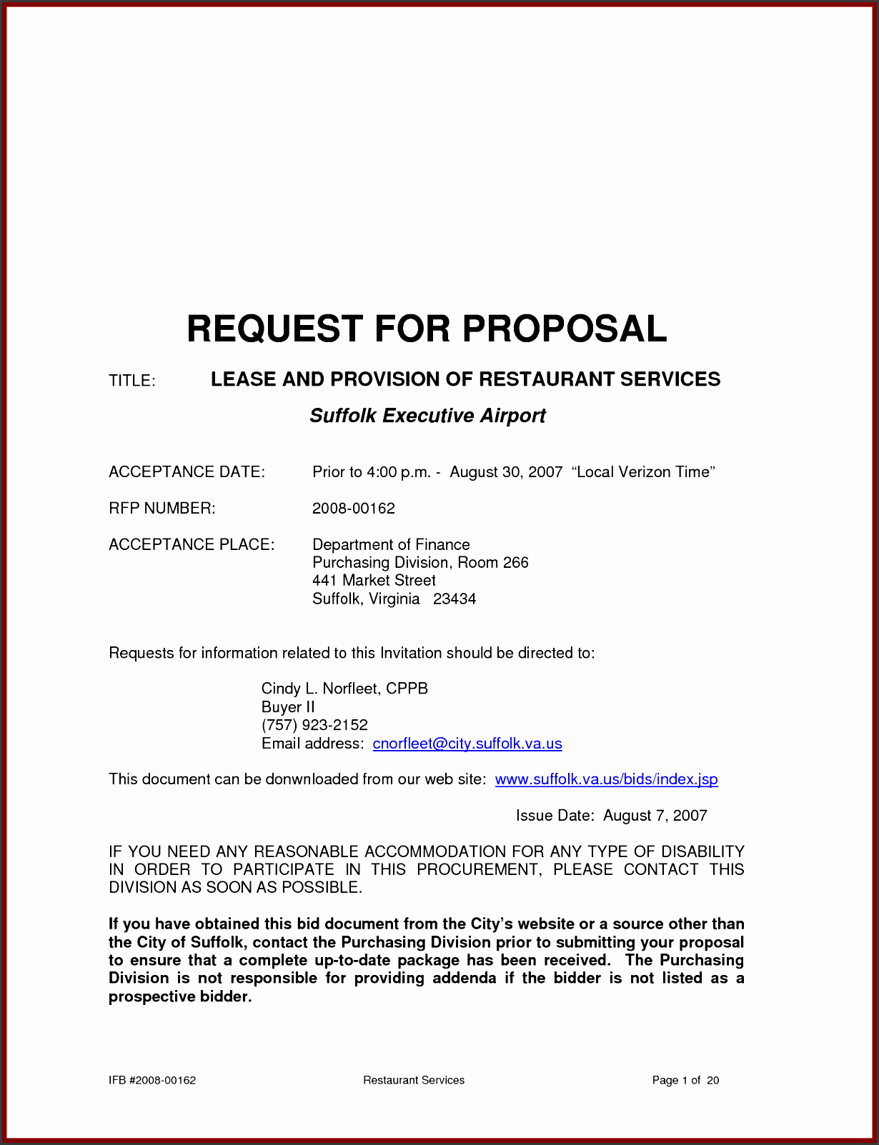 Sample Business Proposal Letter Template on for project, for talent, for ppc service,
