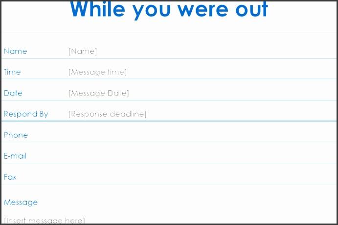 telephone message slip