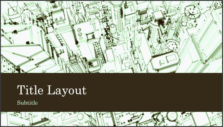 business office city sketch presentation background widescreen