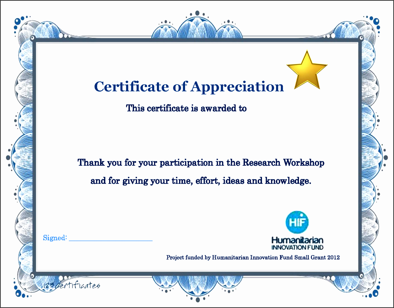 10 certificate of appreciation maker for free sampletemplatess appreciation training certificate pletion thank you word letter free sample letters good alramifo Images
