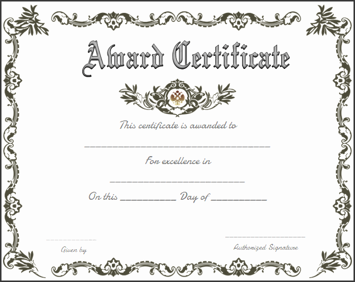 10 certificate of appreciation template easy to edit what is great about our royal award certificate template is that you can produce some very yelopaper Gallery