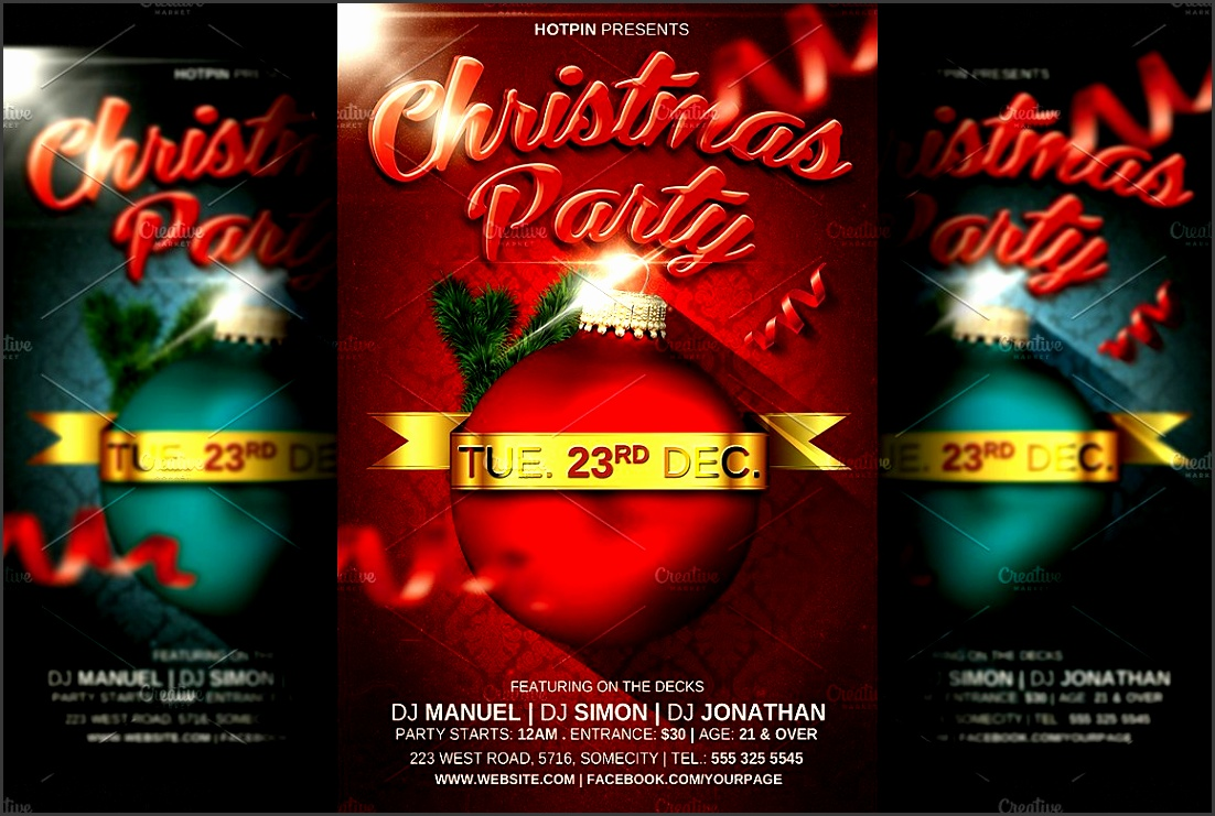 christmas party flyer template s 5bf0638c cc2a4218a0a a