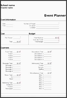 7 Church event Planning Checklist Template ...