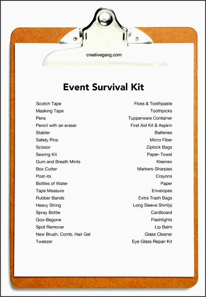 7 Church event Planning Checklist Template ...