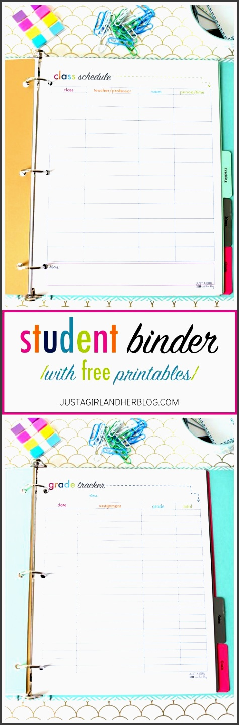 super cute binder with tons of free printables there are some that would work for