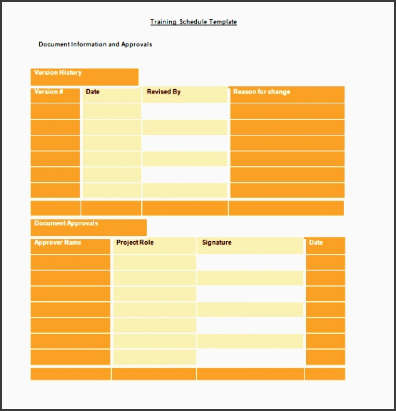 4+ College Year Planner Template Easy To Edit