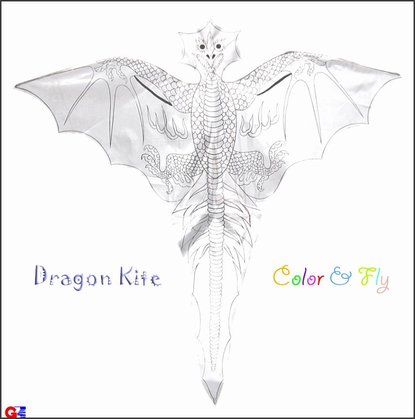 diy dragon 1 rayon plain dragon kites