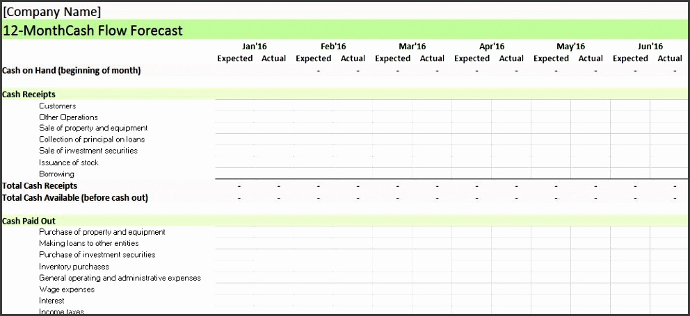 10 company general ledger template
