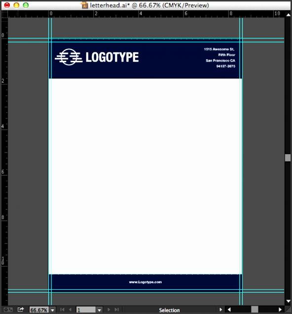 10 company letterhead editable template
