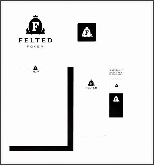 pany letterhead design felted