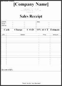 6 sales receipt templates