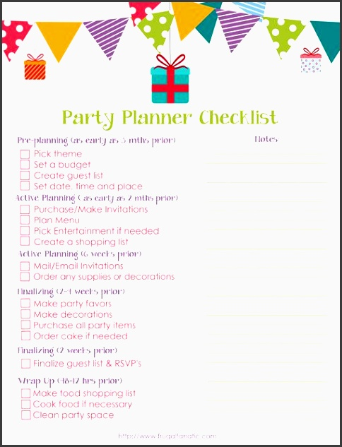 Free Event Planning Template Via  BesikEightyCo
