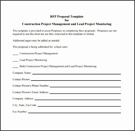 project brief template word - 11 construction project outline template
