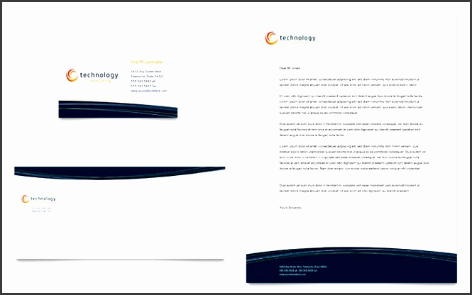 free letterhead template sample