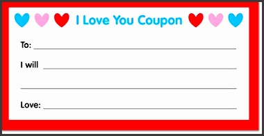 21 free coupon template word excel formats store coupons avoid the necessitation of carrying money to the stores to goods and other services