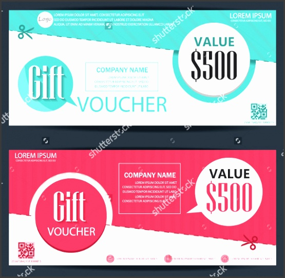 corporate coupon design template 1