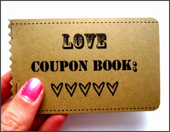 love coupon book template