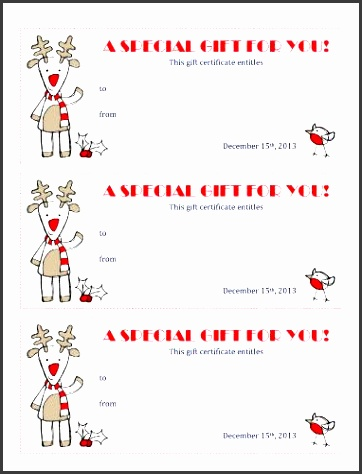 editable and free printable christmas coupons templates in ms word