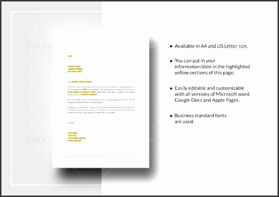 Prices Quotation Design Template  Microsoft White Paper Template
