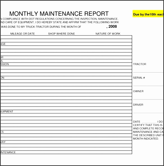 Security Officer Daily Activity Report Template Excel  Daily Activity Report Template