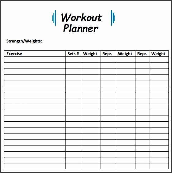 daily exercise planner template vfgsh fresh workout templates calendar 2018 of daily exercise planner template rygue