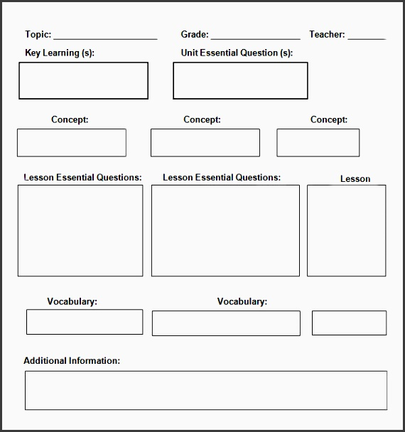7 Daily Planner Template In Word