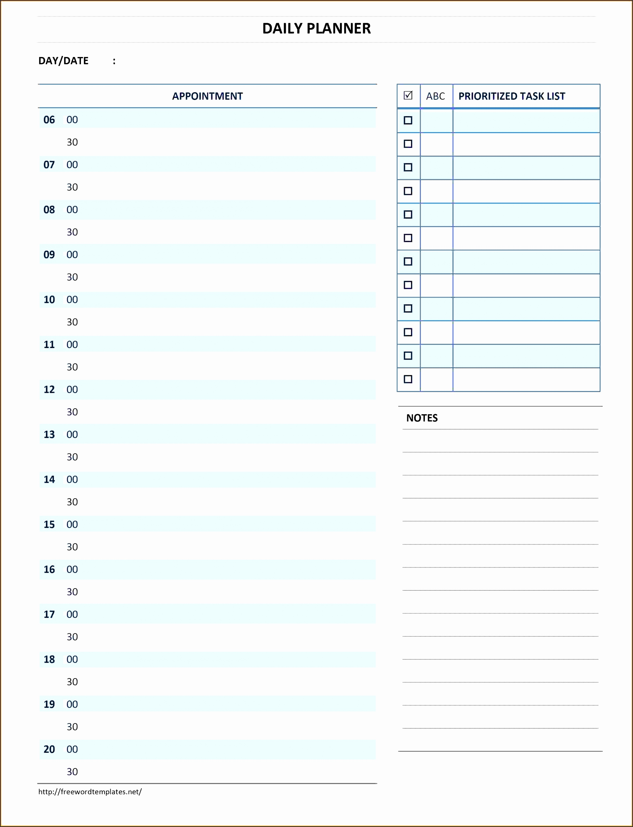 5 Daily Schedule Template Downloadable For Free | SampleTemplatess  Daily Routine Chart Template
