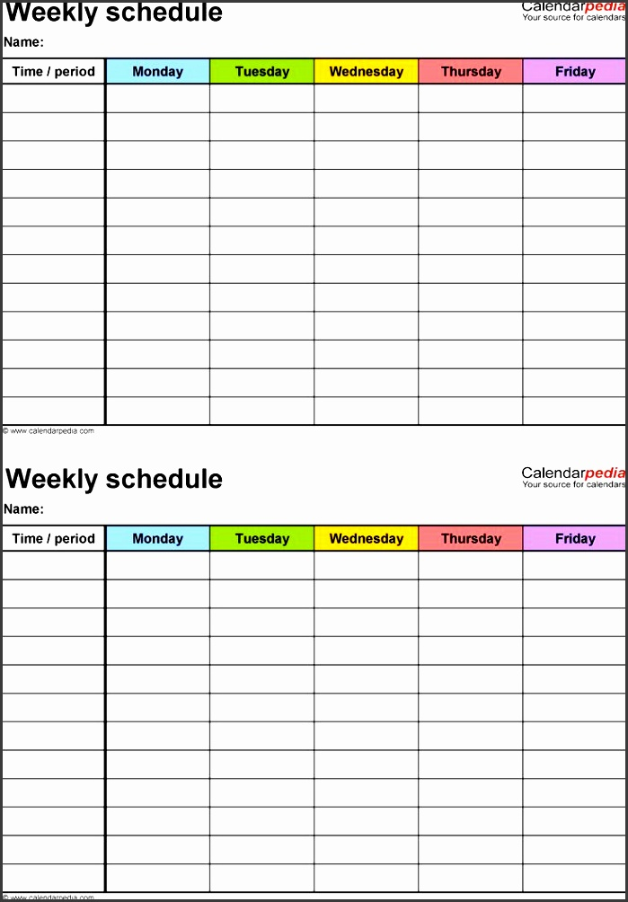 online daily schedule maker