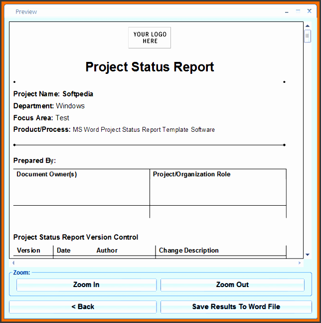 employee weekly status report office templates word report template honeocvc