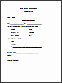 doctors note for school template create edit fill and print