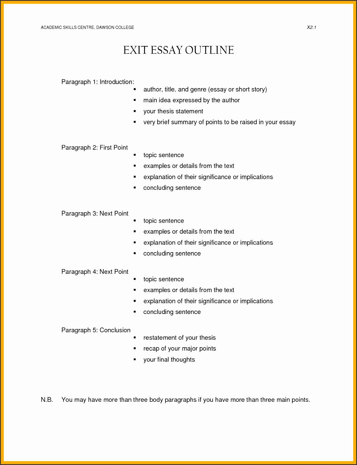 research paper outline template memo example