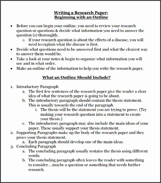 research paper outline template1