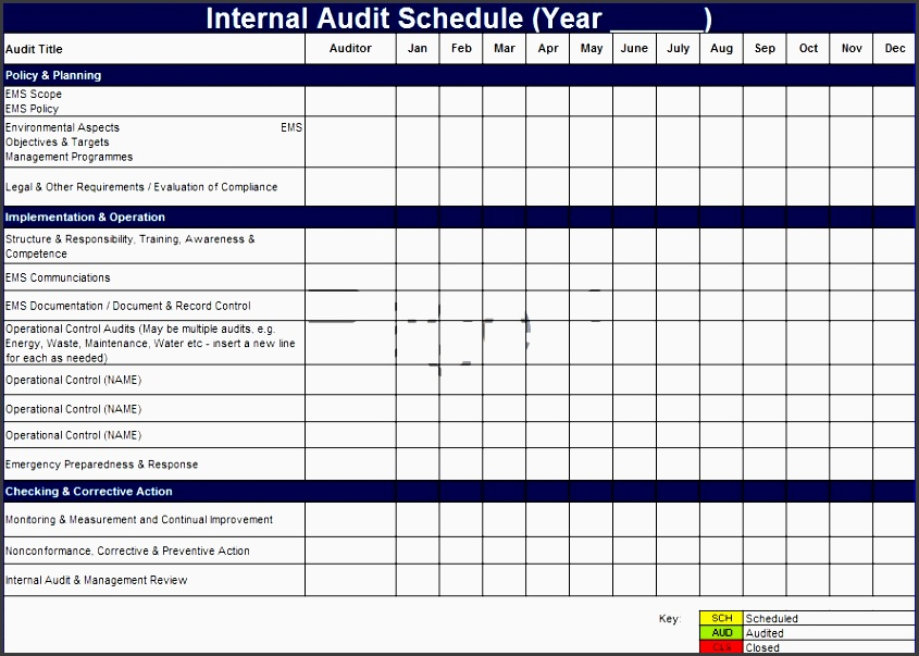 Excellent It Audit Plan Template Contemporary  Example Resume