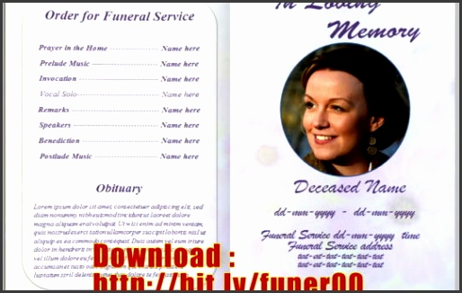 funeral flyers templates free free funeral program template microsof on funeral program templates for ms word
