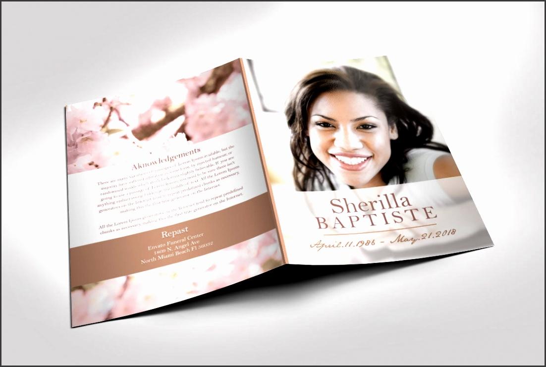 9 Download Free Funeral Program Template SampleTemplatess