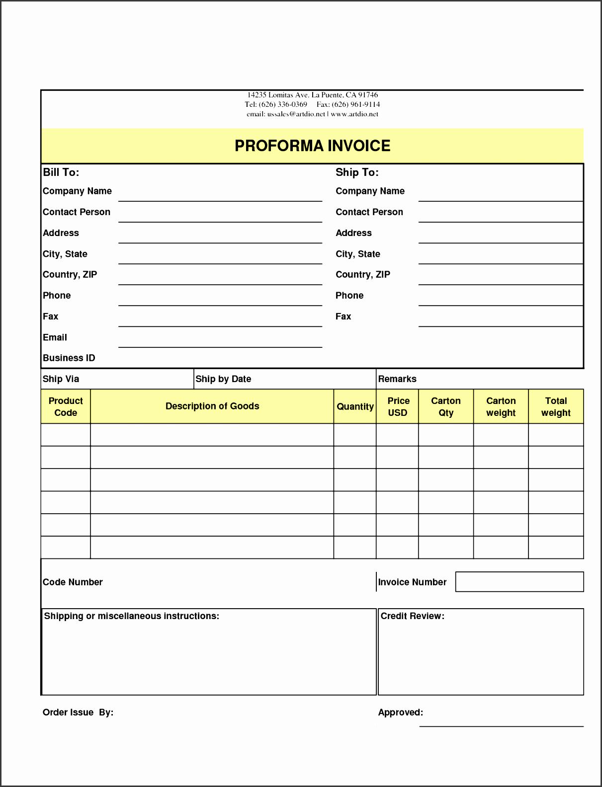 10 Download Free Sample order form Template - SampleTemplatess ...