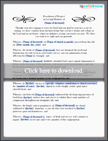11 easy to edit funeral planning checklist template